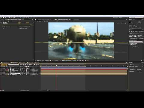 After Effects CS6 3D compositing tutorial