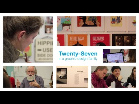 Twenty Seven + a small graphic design family