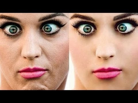 Unreal Celebrity Photoshop Transformations