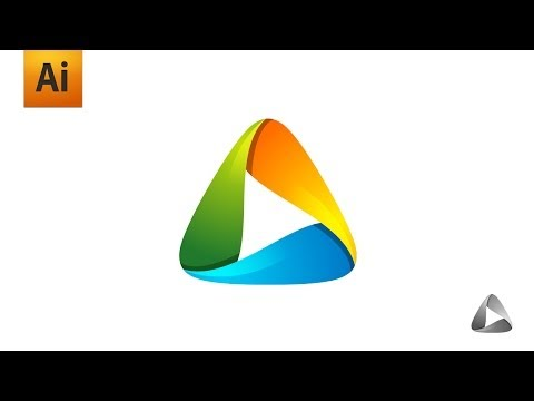 Adobe Illustrator Tutorial – Playful / Abstract / Colorful Logo Graphic Design