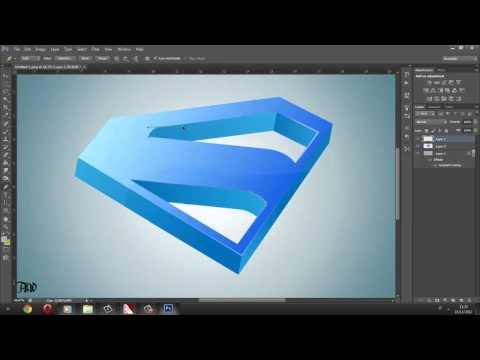3D logo with illustator