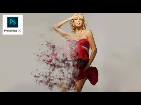 Photoshop CC – Dispersion Effect [ Smoke ] [ CS7 ]