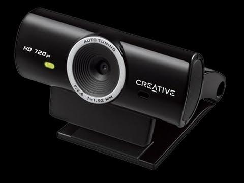 Unboxing WebCam Creative Live! Cam Sync HD