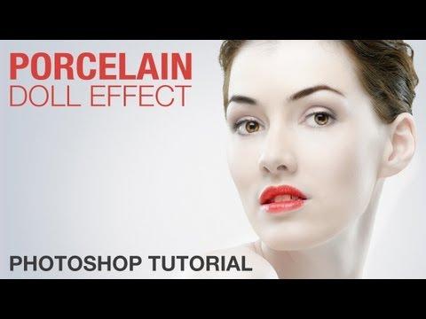 Photoshop: Porcelain Doll Effect (Photo Retouching) | IceflowStudios
