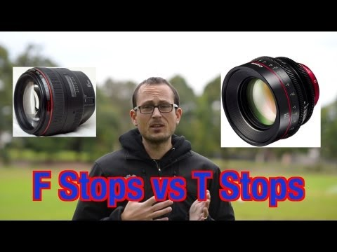 F Stops vs T Stops – what is the difference?