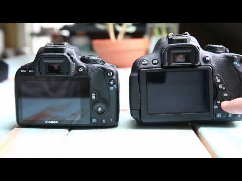 Canon SL1(100D) vs Canon T5i(700D): Worlds Smallest DSLR vs A Normal DSLR?