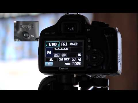 Canon T2i:How to change the ISO,Shutter,and F-Stop