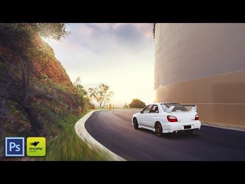 Car Photography Compositing Walkthrough! (Photoshop & VirtualRig)