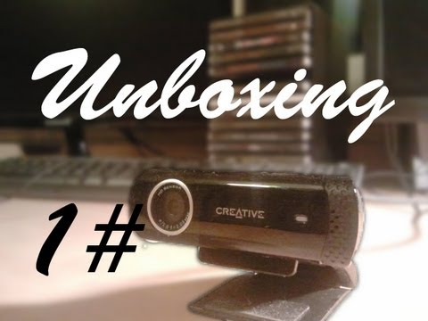 "Unboxing 1# ""Kamerka Internetowa Creative Live Cam Chat HD"""