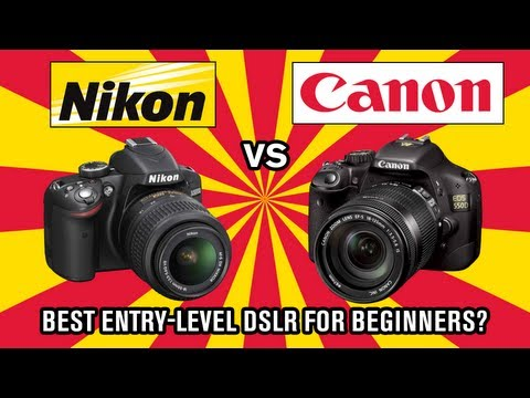 Nikon vs Canon – Best DSLR for beginners?