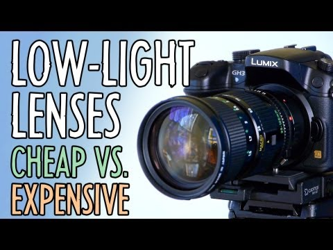 Low-light Lens Upgrade (Cheap vs. Expensive) // Best 2012 Moguler Reels : Indy News January 7, 2013