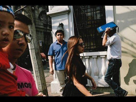 Manila Street Photography GoPro POV with the Fujifilm x100s