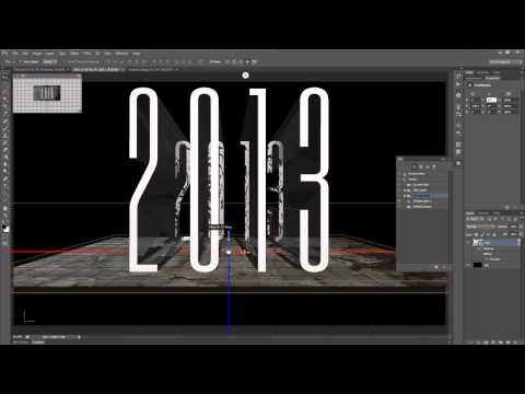 Tutorial Adobe Photoshop – Text Effect 3D