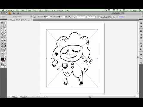 Adobe Illustrator CS4 Live Trace