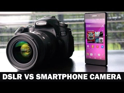 Sony Xperia Z2 VS Canon 60D DSLR Camera Comparison