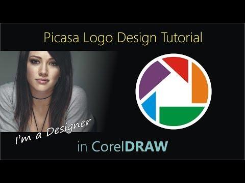 Picasa Logo Design Tutorial in CorelDraw