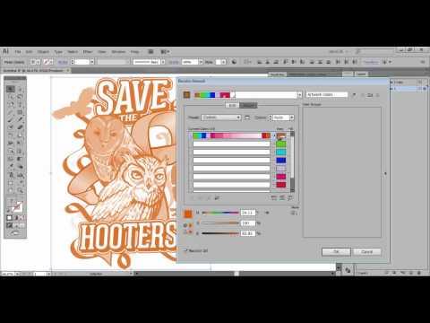 Adobe Illustrator – Live Color, Recolor Artwork