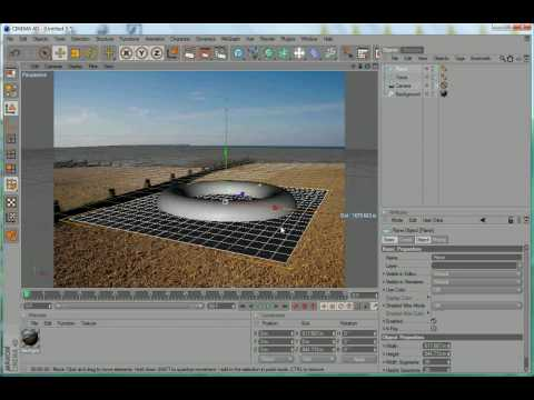 Cinema 4D Tutorial – Compositing Background