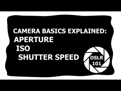 DSLR101 – Aperture (F-Stop) , Shutter Speed, & ISO Explained – Photography + Filmography Tutorial