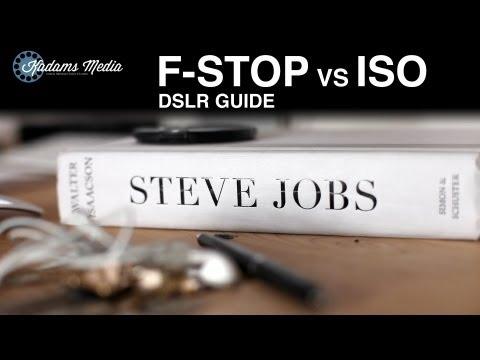 DSLR Guide // Fstop vs. ISO
