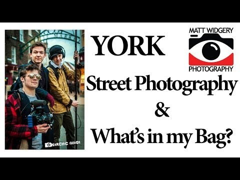 York Street Photography & What's in My Bag