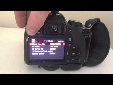 Canon DSLR – how to fix when it stops recording
