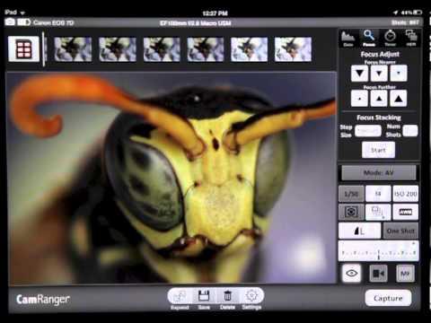 CamRanger – iPhone / iPad wireless control of Canon and Nikon DSLR