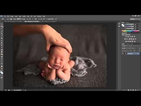 Head In Hands Composite Tutorial | dna | photography