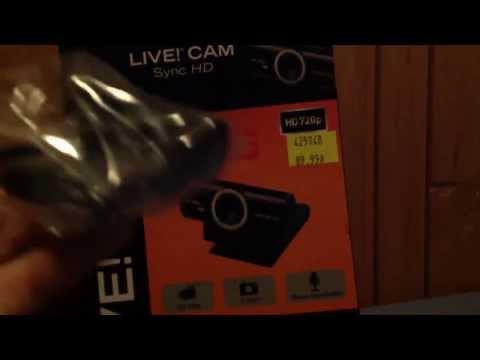 Unboxing kamerki Creative Live! Cam Sync HD