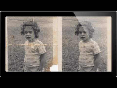 How To Repair An Old Photo In Photoshop Pt 1 – A Phlearn Video Tutorial