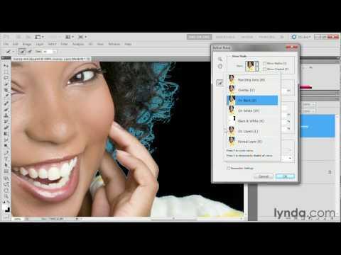 Photoshop tutorial: Using the Refine Edge command   lynda.com