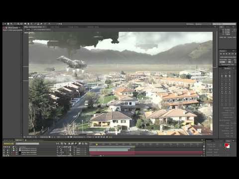 AE matte compositing – Apocalyptic landscape