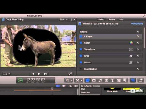 Final Cut Pro X 105: Core Training: Compositing and Visual FX – 19. Using Masks