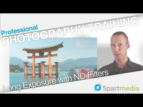 Photography Training: How to Take Long Exposure Shots in Bright Daylight. Smooth Water Tutorial