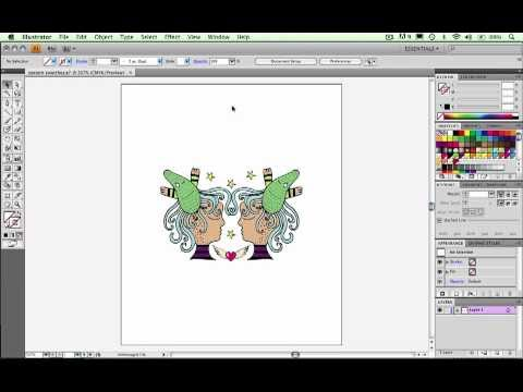 Adobe Illustrator CS4 Create a pattern swatch