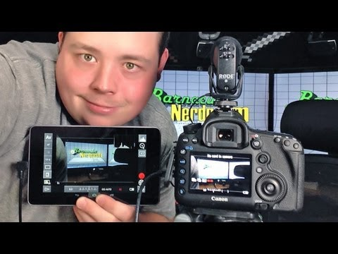Remote Control my Canon 5D Mark III w/ DSLR Controller on Google Nexus 7 Android Tablet