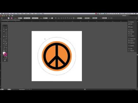 Curved or Rounded Text Around the Bottom of a Circle in Adobe Illustrator CS6