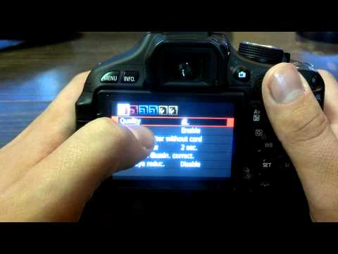DSLR Tips – Change Picture Quality