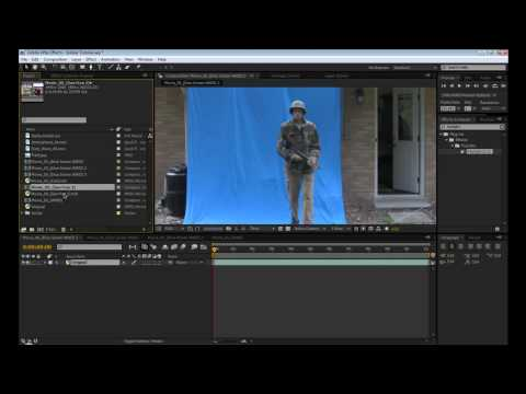 After Effects Tutorial: Advanced Chroma Keying and Compositing (PART 1)
