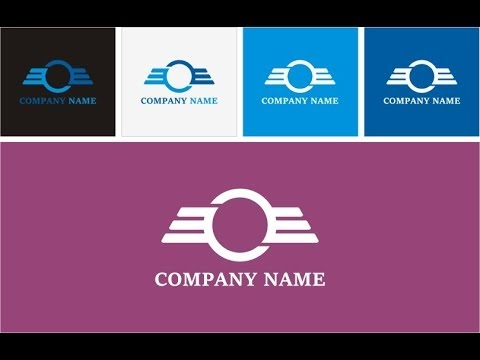How to design a logo and business card for new company #3