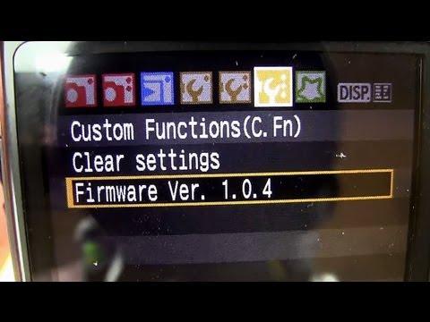 How To Update Your Canon DSLR Firmware – DSLRnerd.com