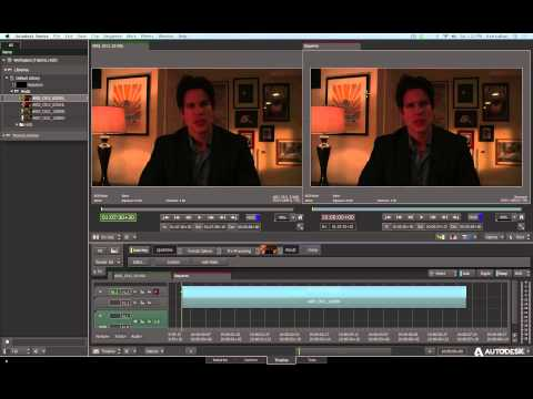 Smoke 2015 Tutorial: 3D Compositing in ConnectFX – Part 1