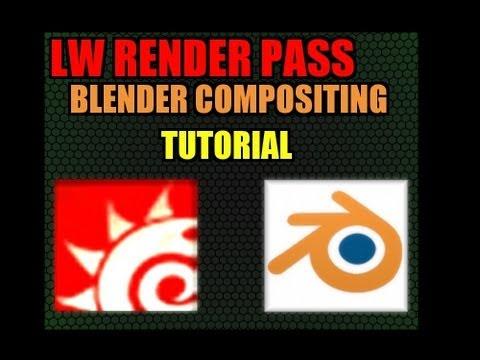 Lightwave render passes + Blender Compositing