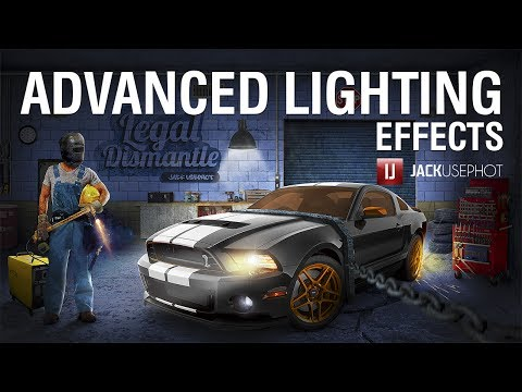 Tutorial [ #SpeedArt ] – Advanced Lighting | Photoshop Compositing by Jack Usephot