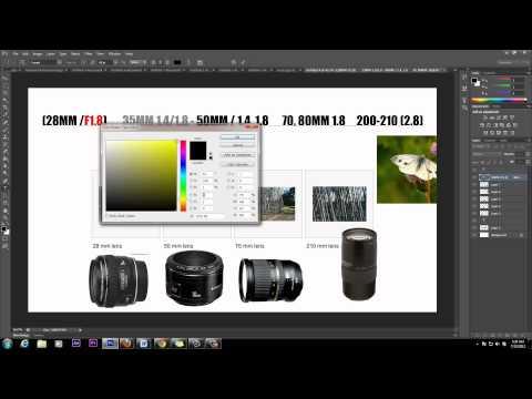 Lens Basics | ISO Apeture F Stop 28mm – 210mm