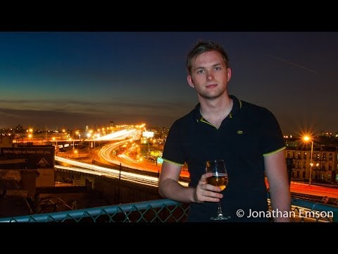How To Include People In Your Long Exposures of Light Trails or Fireworks etc