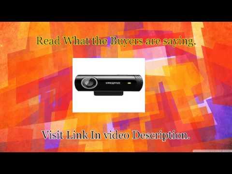 Cheap Creative Live Cam Chat HD, 5.7MP Webcam Black