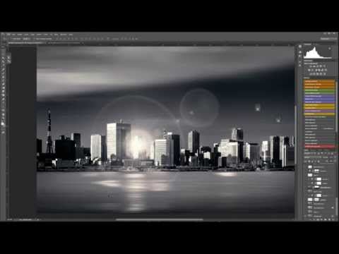 How to fake the long exposure effect in photoshop