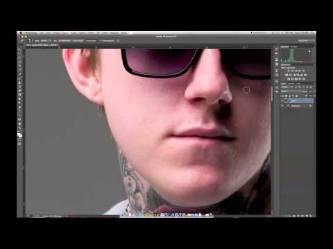 Removing Pimples – Photoshop Tutorial – DSLR-TIPS.COM