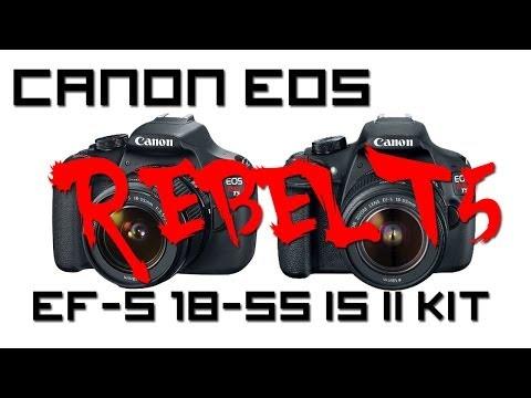 Canon EOS Rebel T5 1200D DSLR Camera Review!